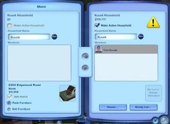 Sims 3 koodi pereliikmete suurendamiseks