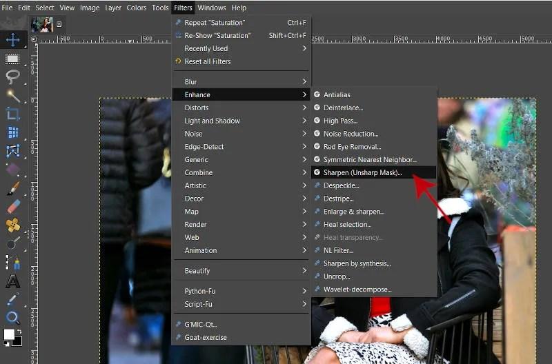 Suurendage liikme meetodeid fotot